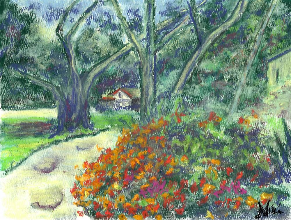 """Down at the Oaks"" original fine art by Niki Hilsabeck"