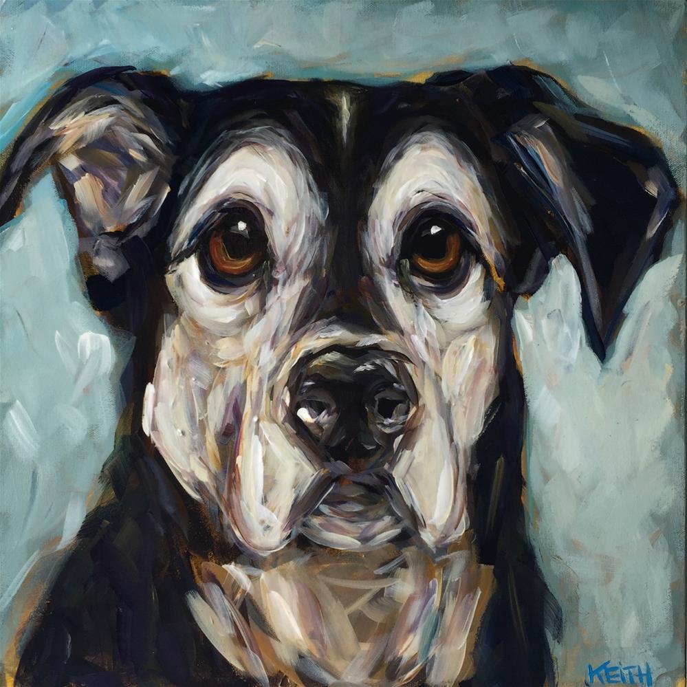 """Hurley"" original fine art by Kandice Keith"