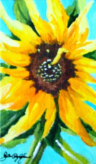 """Happy August"" original fine art by JoAnne Perez Robinson"