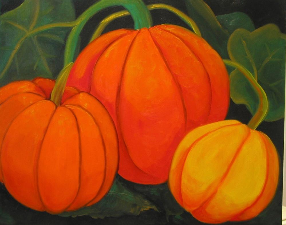 """Fall is Here"" original fine art by Patricia Murray"