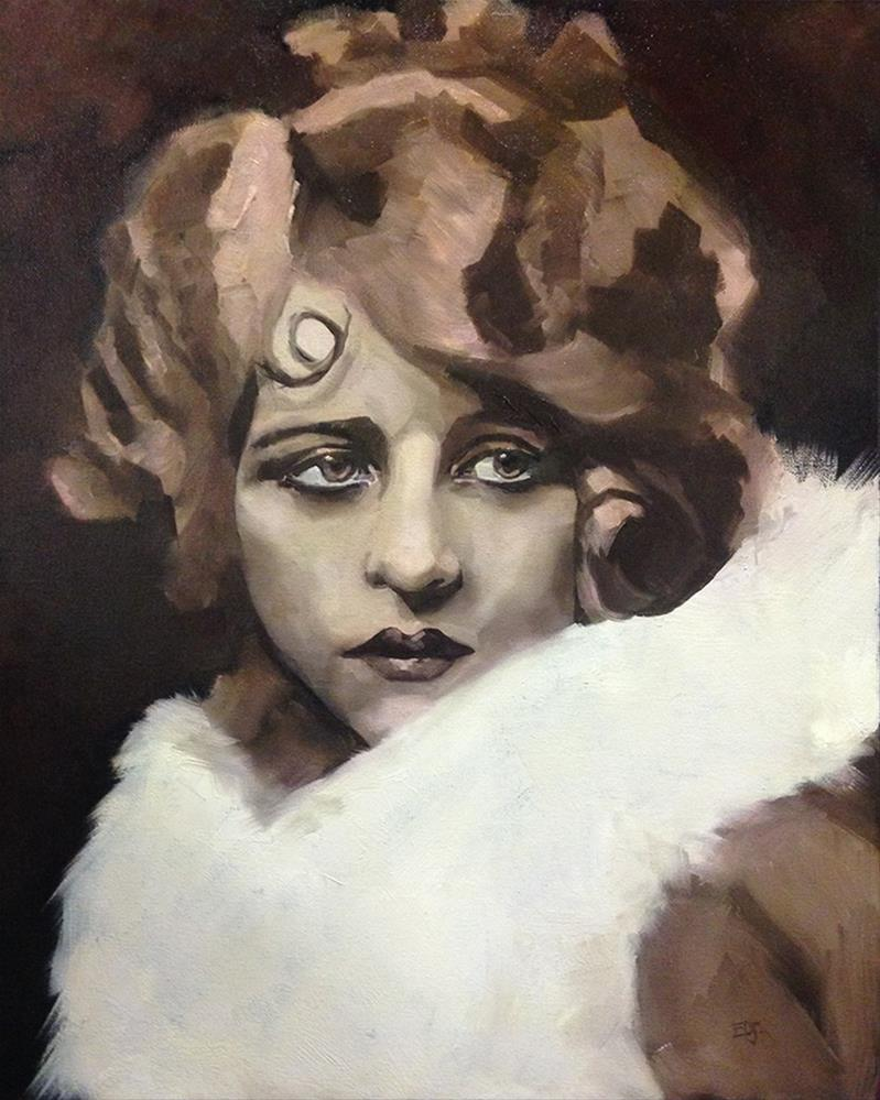 """Myrna"" original fine art by Elizabeth Dawn Johnston"