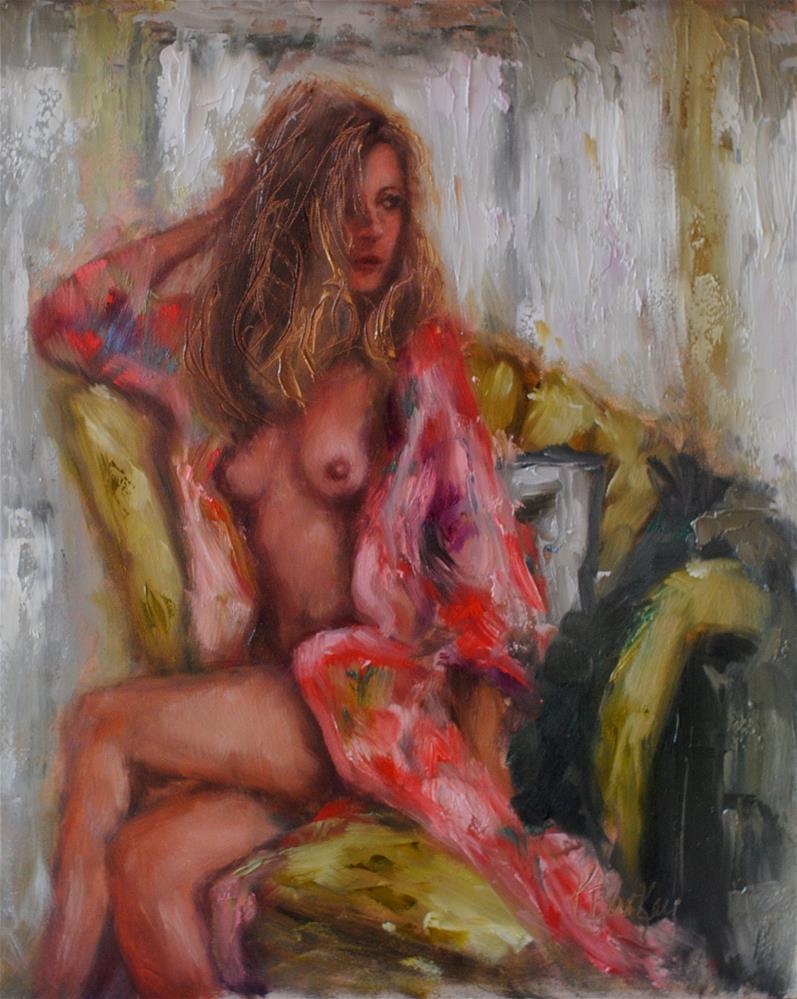 """""""Slow & Dazy"""" original fine art by Kelly Berkey"""