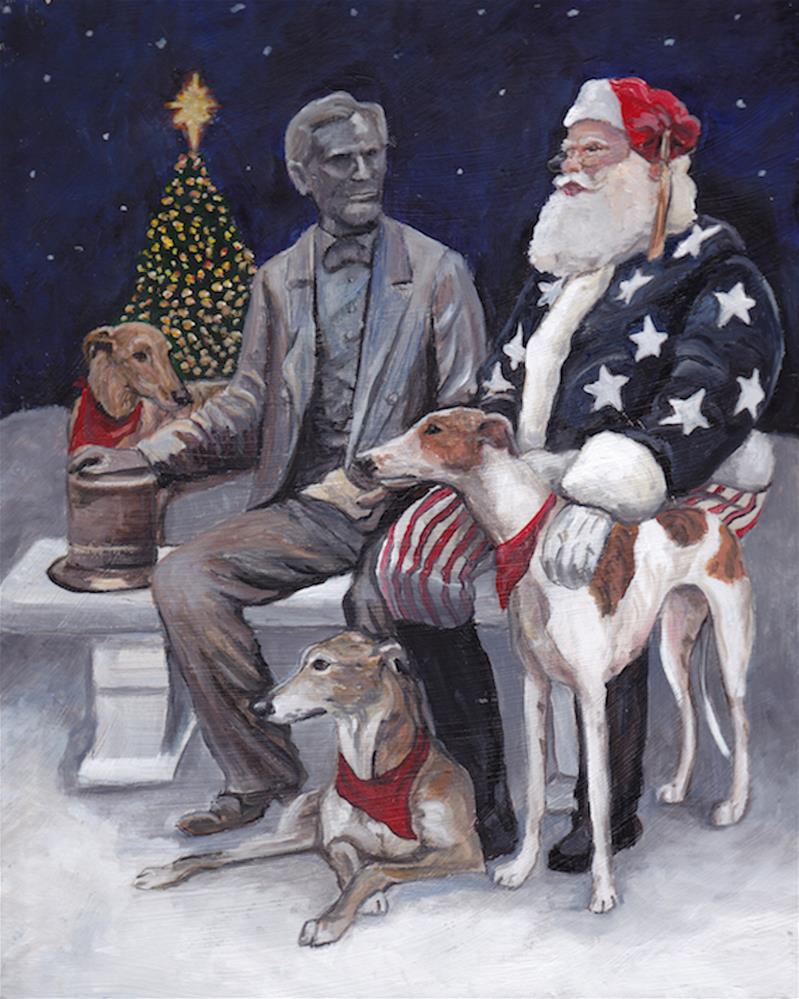 """Gettysburg Christmas"" original fine art by Charlotte Yealey"