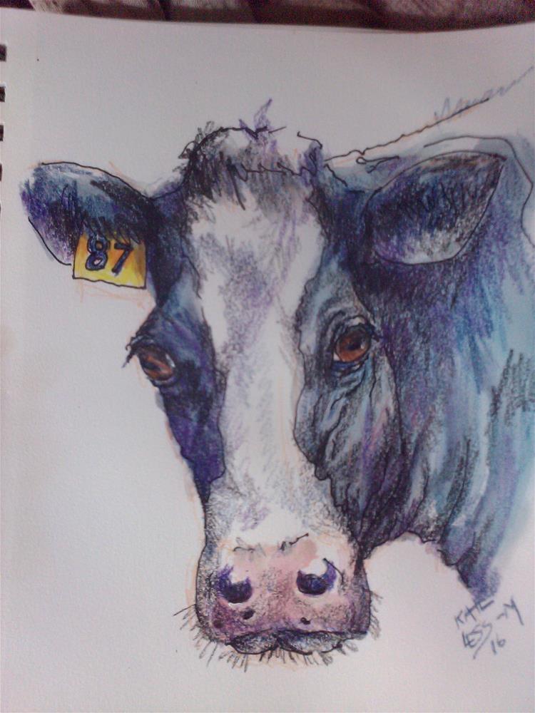 """#87"" original fine art by Kate Less-Madsen"
