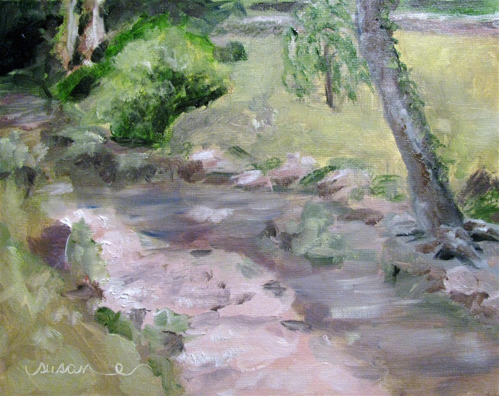 """Creek at Belle Meade"" original fine art by Susan Elizabeth Jones"