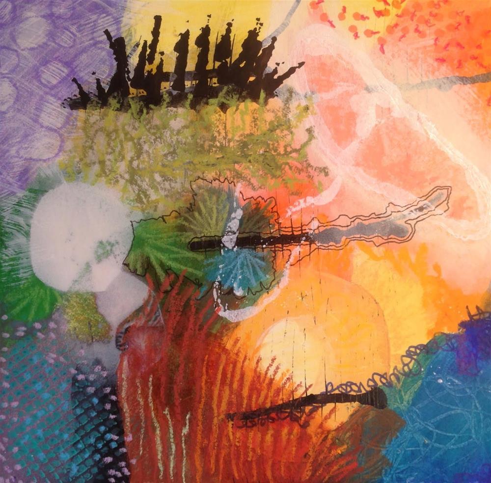 """""""IMPROV, Day 1"""" original fine art by Dotty  Seiter"""