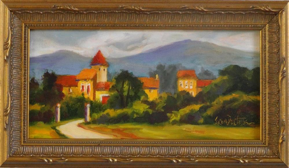 """Soreze Gateway"" original fine art by Erin Dertner"