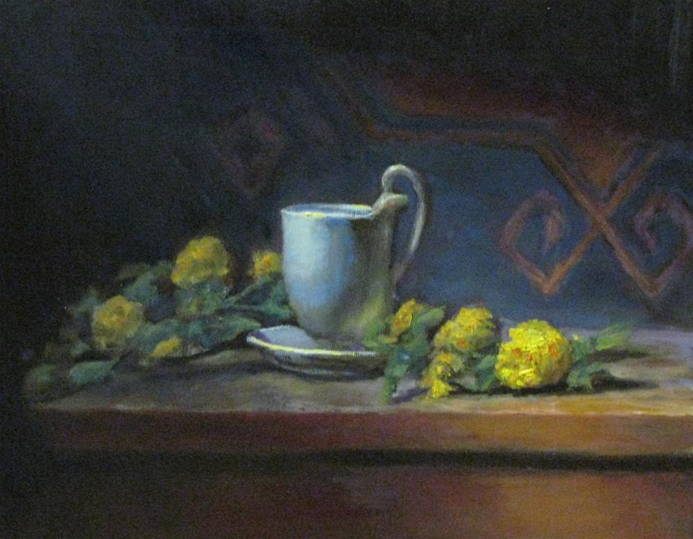 """""""grow of light and color study #68"""" original fine art by tom dawson"""