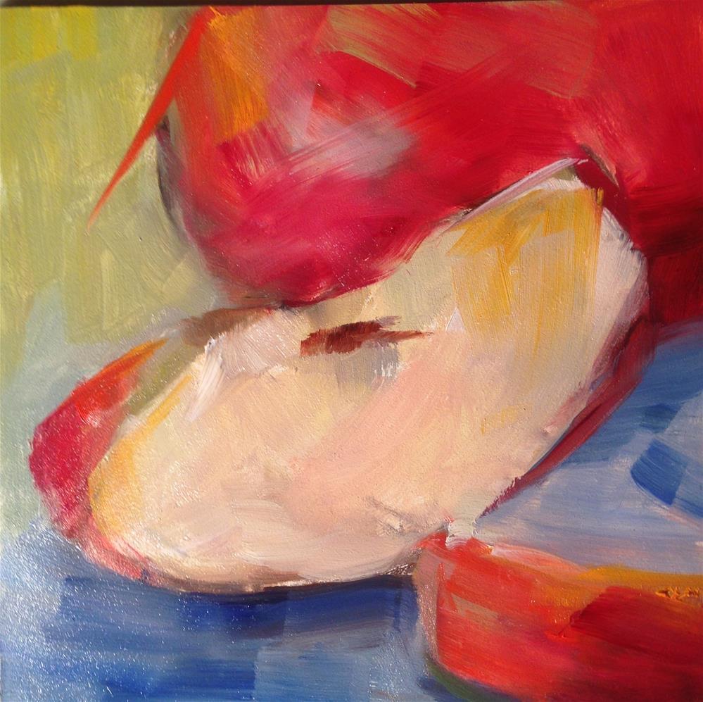 """""""small apple study #2"""" original fine art by Sue Churchgrant"""