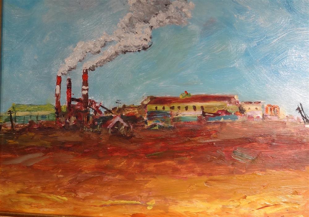 """Last Standing Sugar Mill"" original fine art by Joseph Schopen"