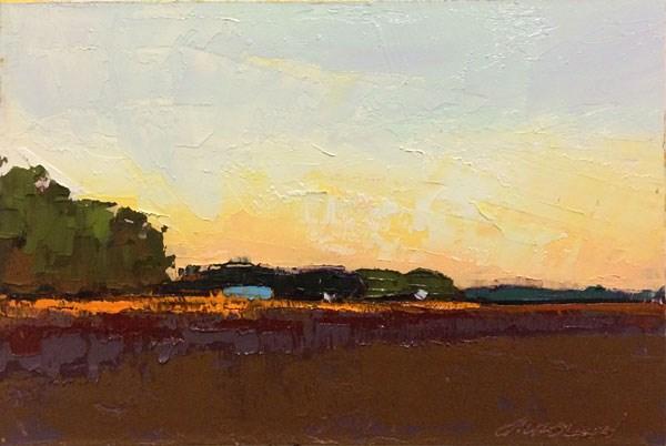 """Long Shadows, Long Light"" original fine art by Mary Gilkerson"