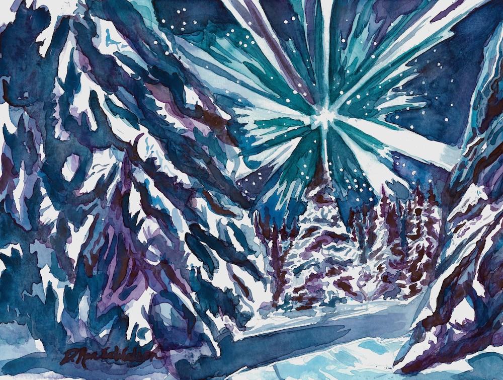 """Glories Stream"" original fine art by D. Renee Wilson"