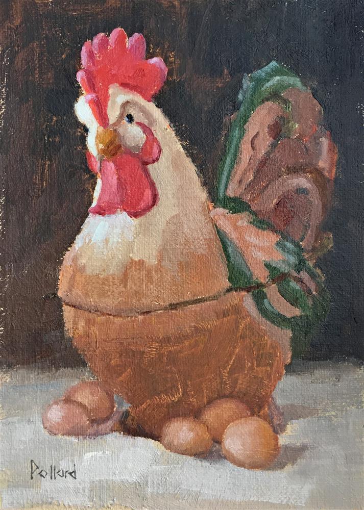 """Chuck"" original fine art by Susan Pollard Gillespie"