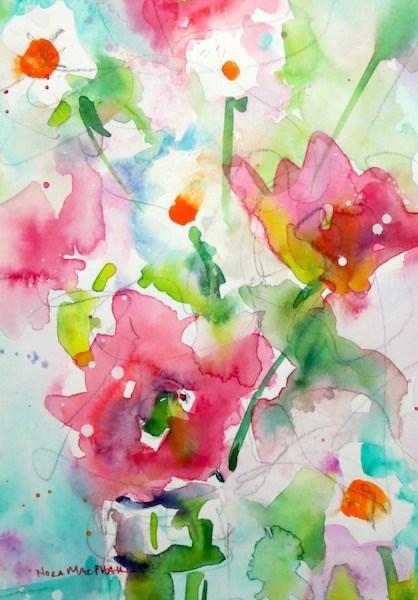 """""""a subtle hint"""" original fine art by Nora MacPhail"""