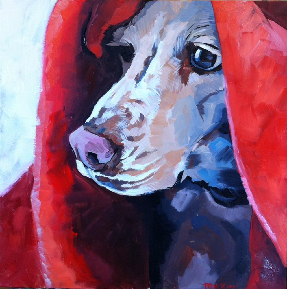 """Lua"" original fine art by Teddi Parker"