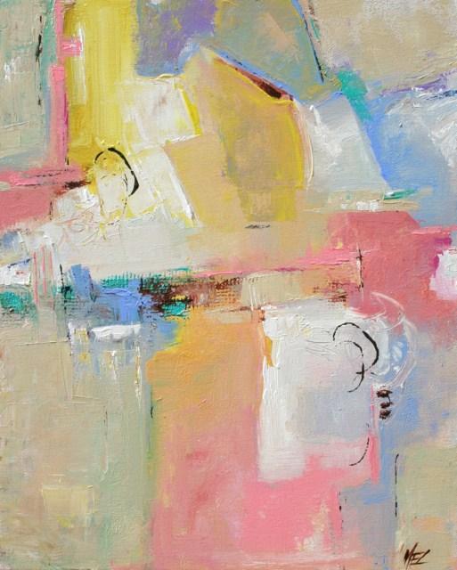 """Caress"" original fine art by Elizabeth Chapman"