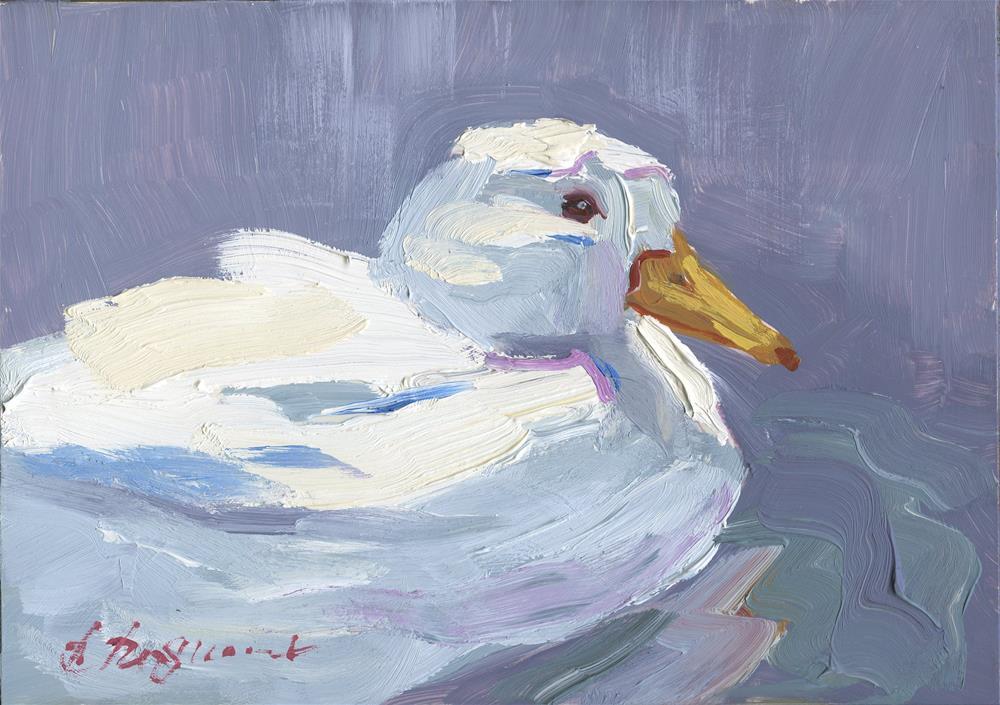 """Duck"" original fine art by B. Rex Stewart"