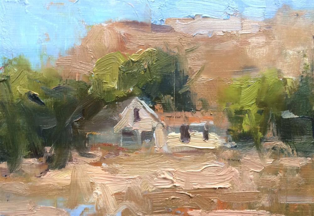 """Palisade Ranch "" original fine art by Michael Clark"