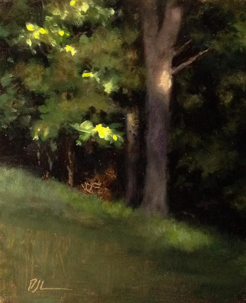 """Green"" original fine art by Dj Laurienzo"