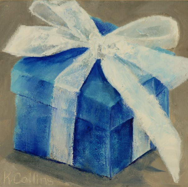 """Just For You"" original fine art by Kathy Collins"