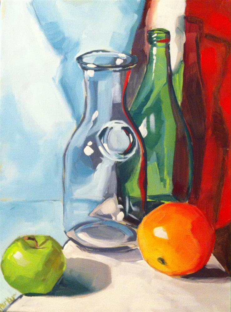 """Complimentary Glass"" original fine art by Teddi Parker"
