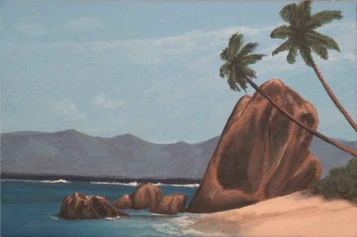 """Ocean Breeze"" original fine art by Amy VanGaasbeck"