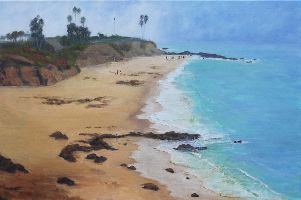 """Morning Burn Off - Laguna"" original fine art by Patricia Matranga"