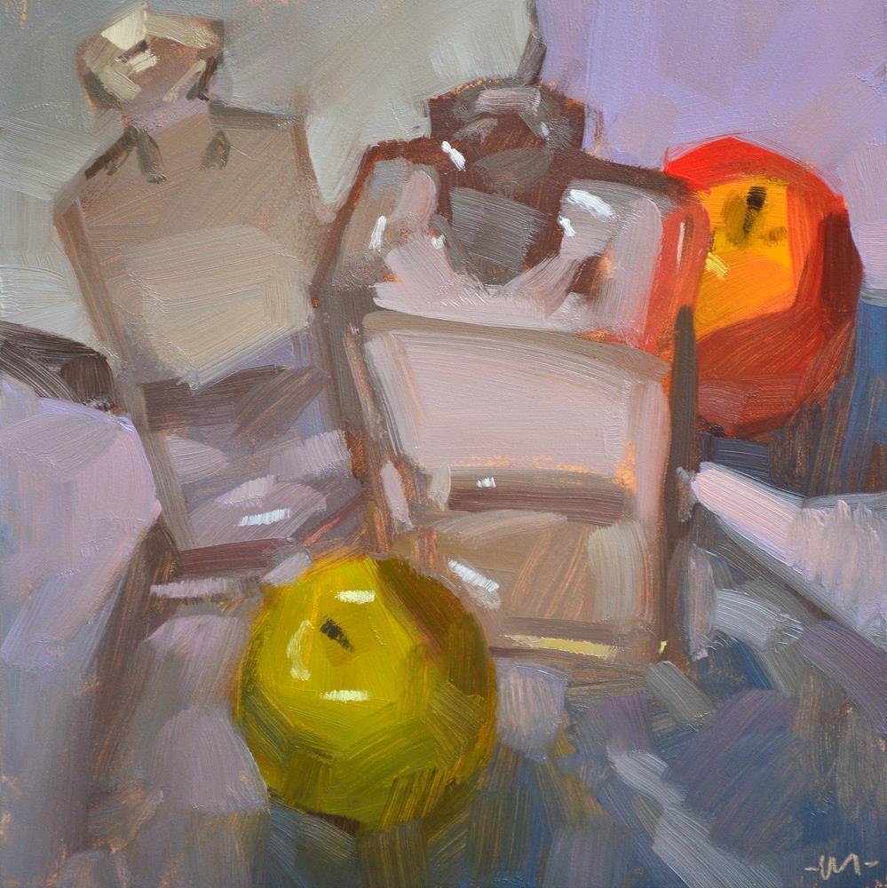 """Being Coy"" original fine art by Carol Marine"