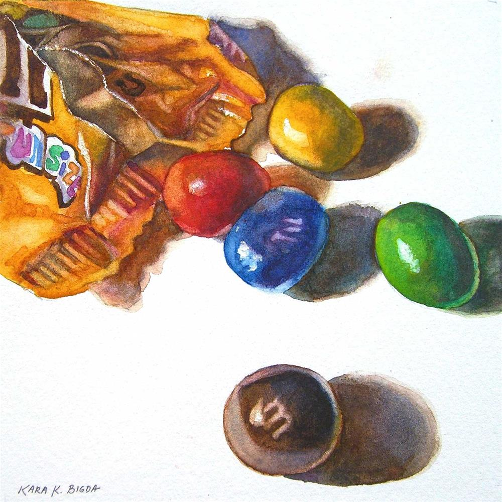 """Fun Size"" original fine art by Kara K. Bigda"
