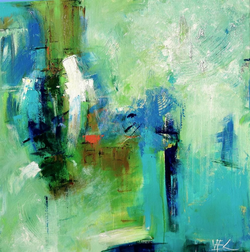 """Zephyr"" original fine art by Elizabeth Chapman"