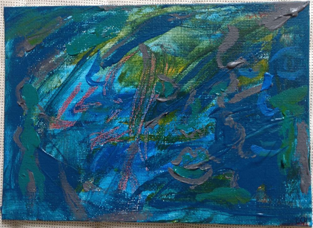 """Marauder"" original fine art by Ellis Charles Hoffmeister"