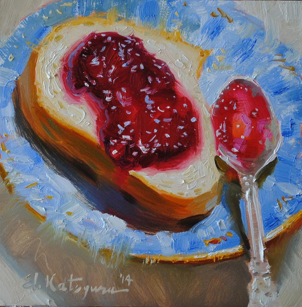 """Sweet Snack"" original fine art by Elena Katsyura"