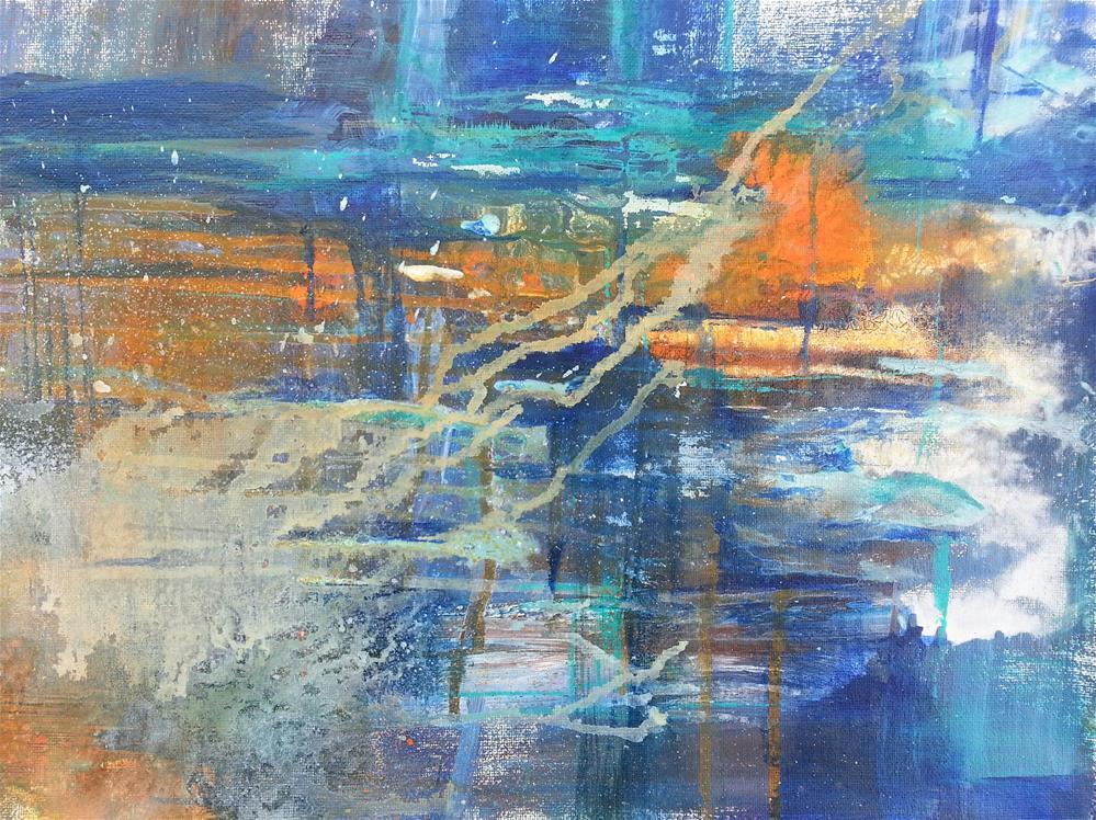 """Breakthrough"" original fine art by Becky Chappell"
