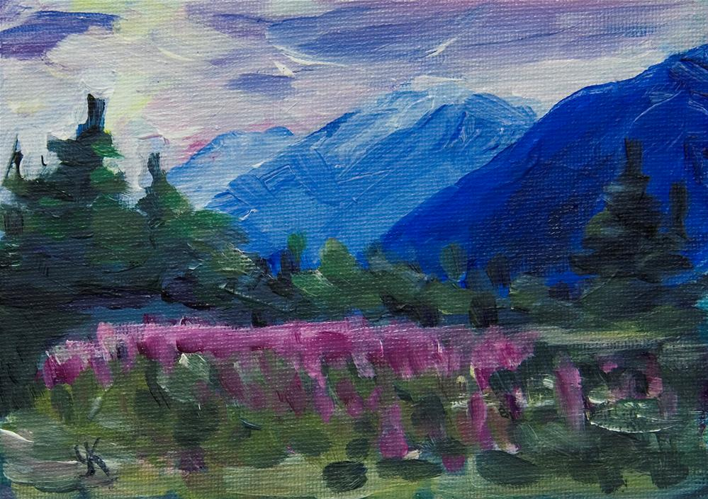 """Outer Point, Alaska."" original fine art by Yulia Kazansky"