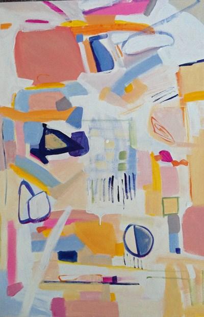 """""""Caper"""" original fine art by Pamela Munger"""