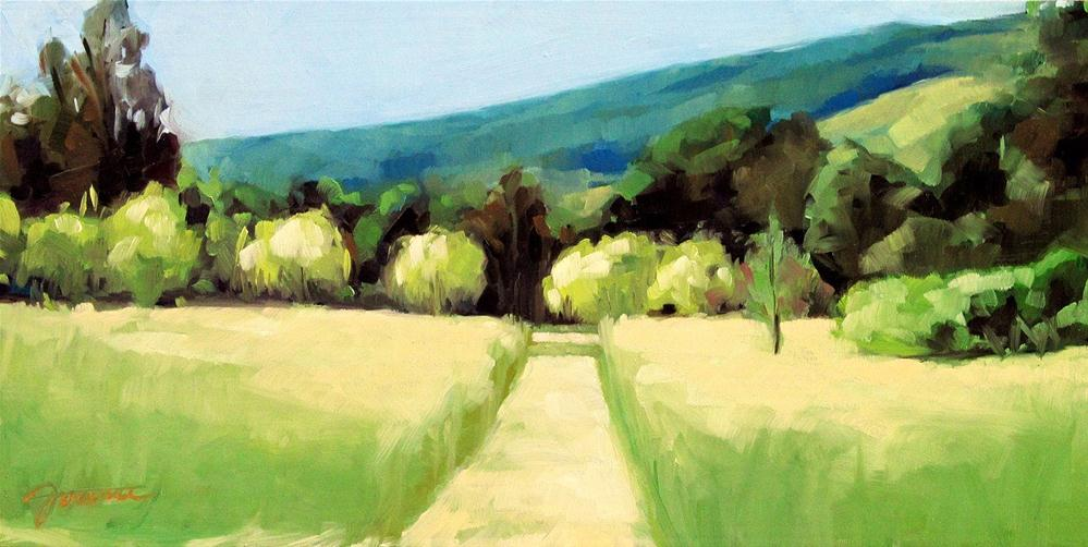 """Early Summer at Monticello"" original fine art by Joanna Bingham"
