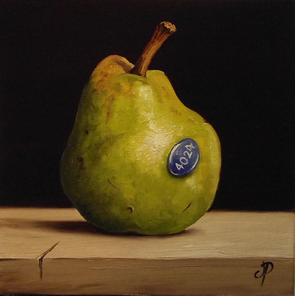 """Williams Pear"" original fine art by Jane Palmer"