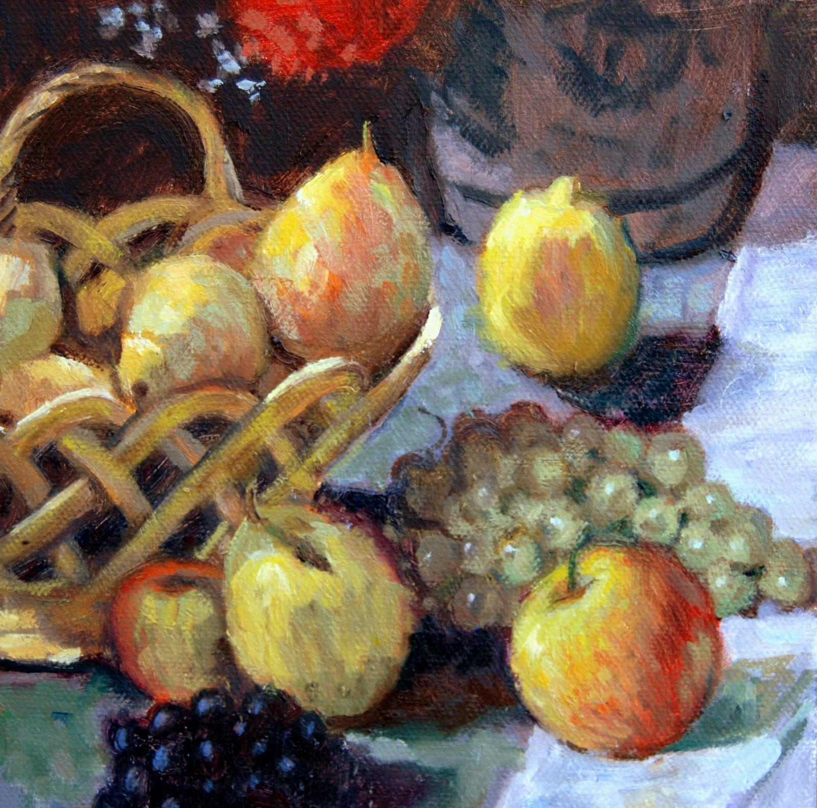 """""""Monet Copy"""" original fine art by Julie Ford Oliver"""