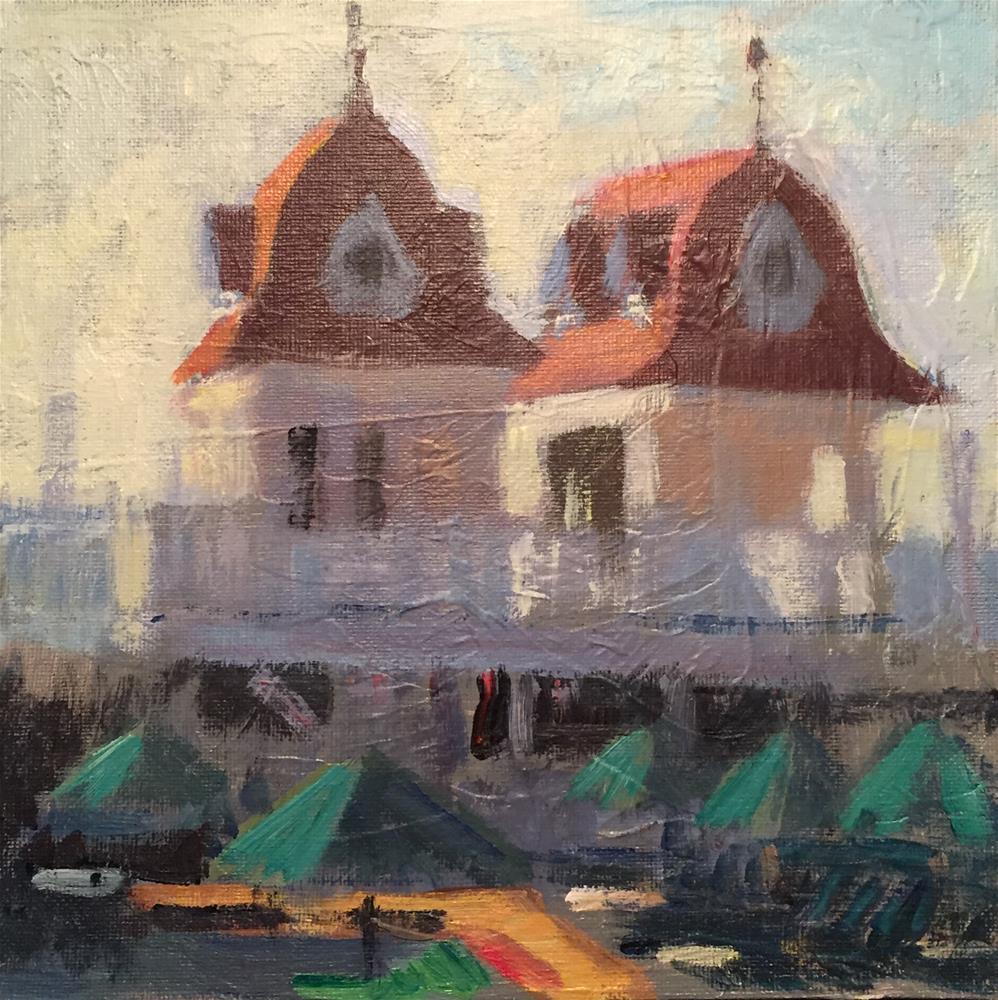 """Hotel Del Coronado San Diego"" original fine art by Joe Gyurcsak"