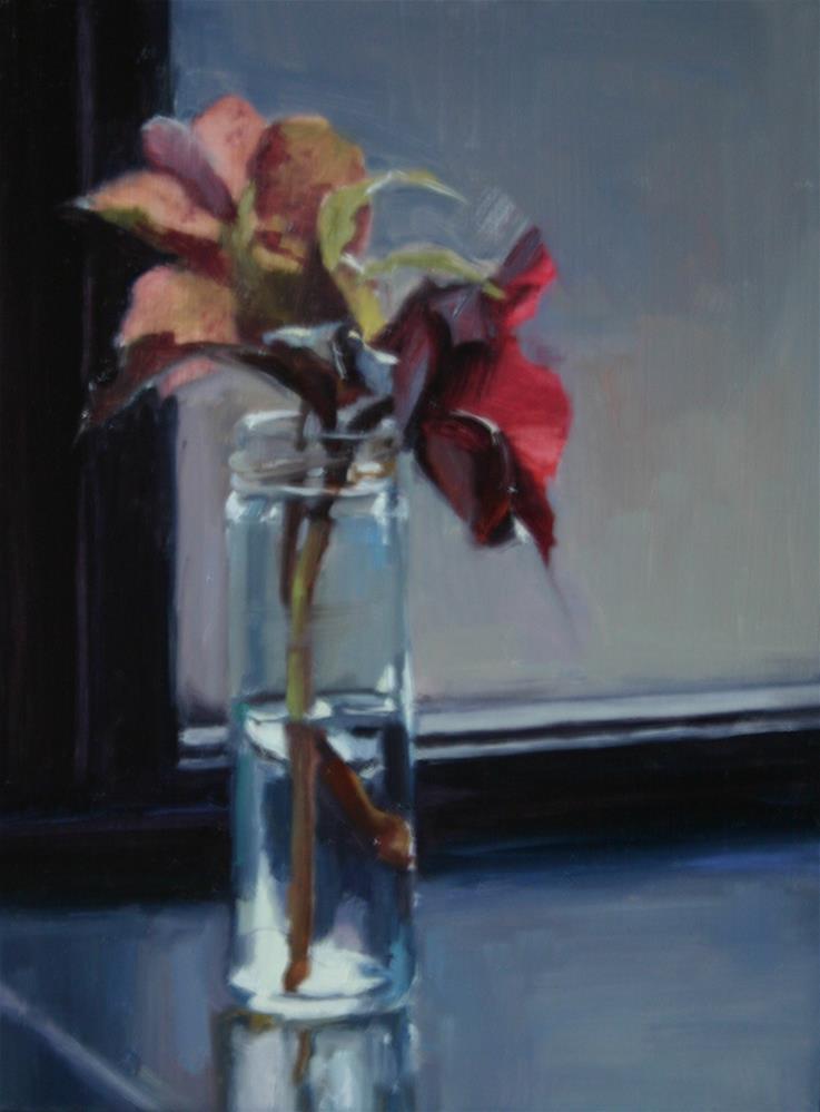 """Hellebores 2"" original fine art by Liz Balkwill"