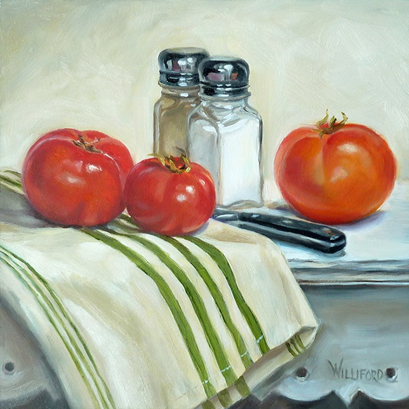 """Homegrown"" original fine art by Kathleen Williford"