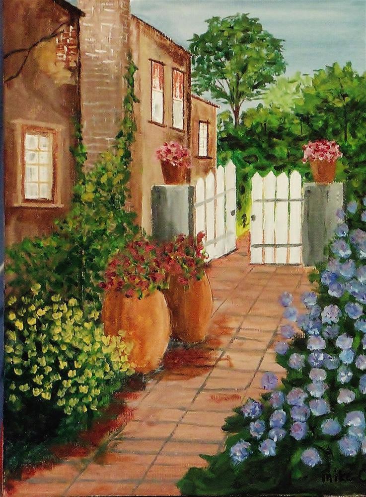 """Gate's Open"" original fine art by Mike Caitham"