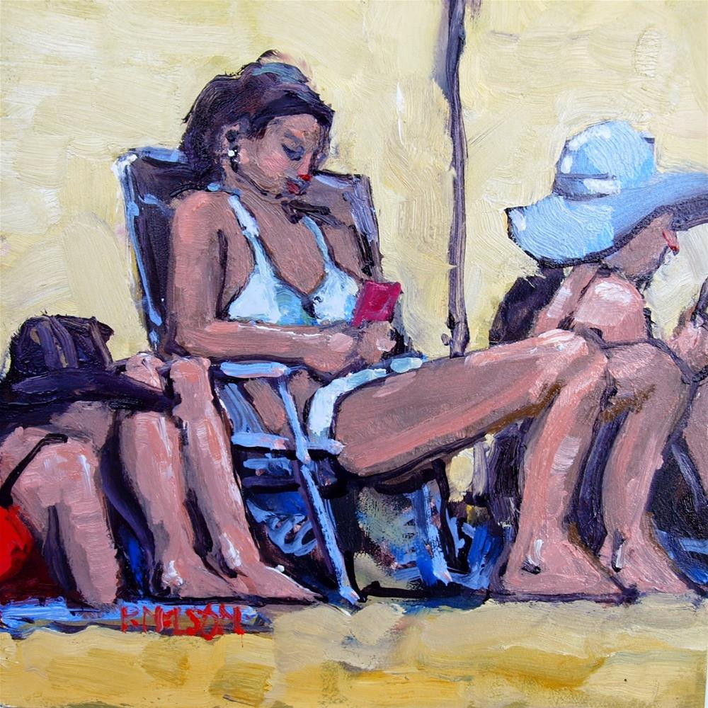"""Texters"" original fine art by Rick Nilson"