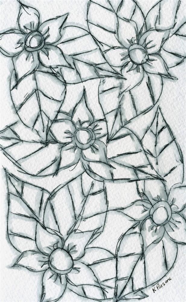 """""""Quintet"""" original fine art by Kali Parsons"""
