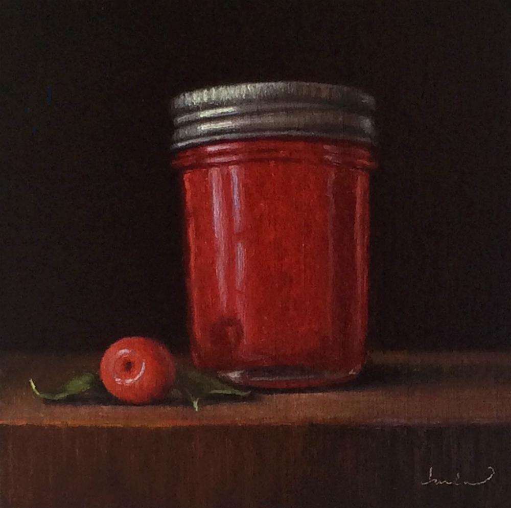 """Wild Plum Jam"" original fine art by Darla McDowell"