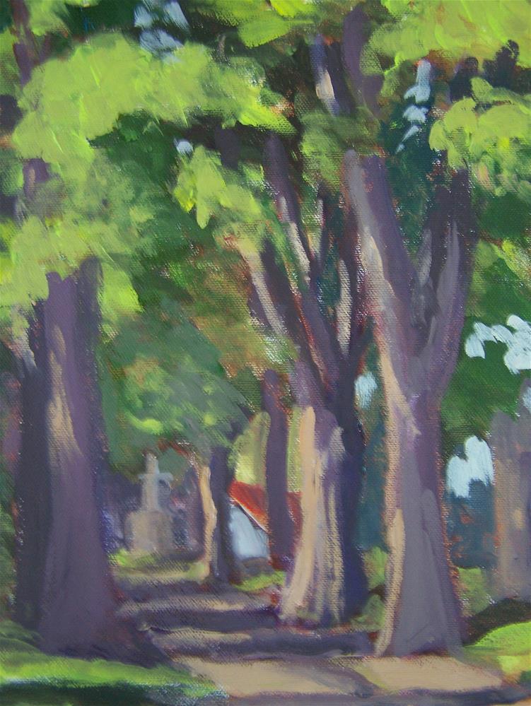 """A light to my Path"" original fine art by Joan Reive"