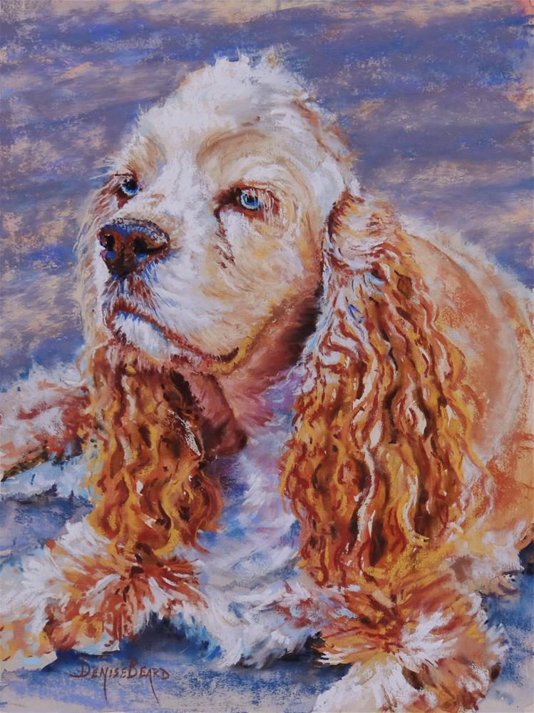 """Freckles"" original fine art by Denise Beard"