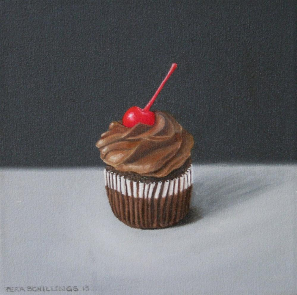 """Heavenly Chocolate II"" original fine art by Pera Schillings"