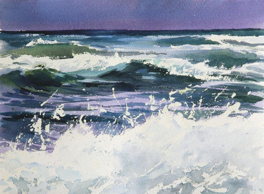 """sea"" original fine art by Beata Musial-Tomaszewska"