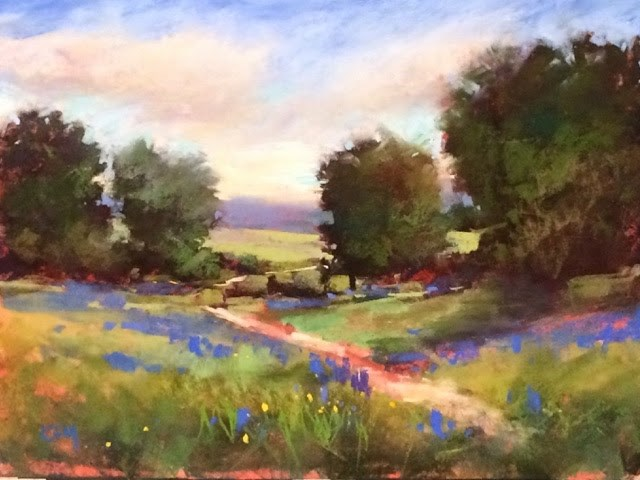"""Dripping Springs Texas Workshop Day 1 Report"" original fine art by Karen Margulis"